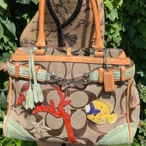 COACH Limited Edition Coral Reef Satchel